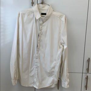 Lululemon white long sleeve shirt
